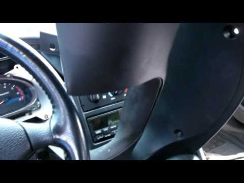 How To Change a Turn Signal / Wiper Control Switch On a Ford Lincoln Or Mercury