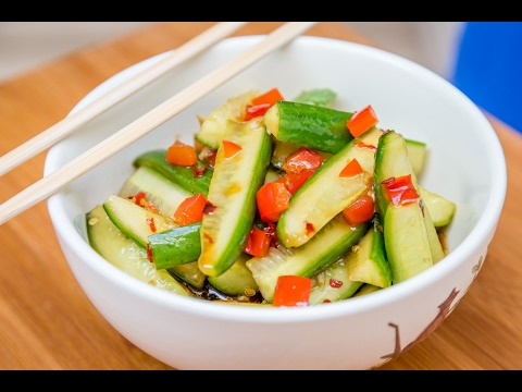 Chinese Recipes | Chinese Cucumber Salad
