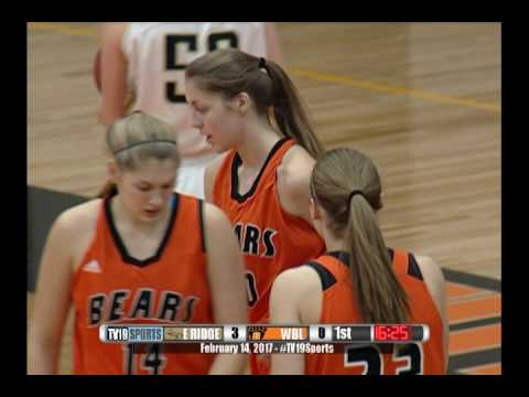 Girls Basketball - White Bear Lake vs East Ridge - 2/14/17