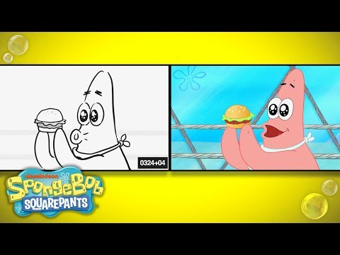 SpongeBob SquarePants | 'What's Eating Patrick' from Sketch to Screen | Nick