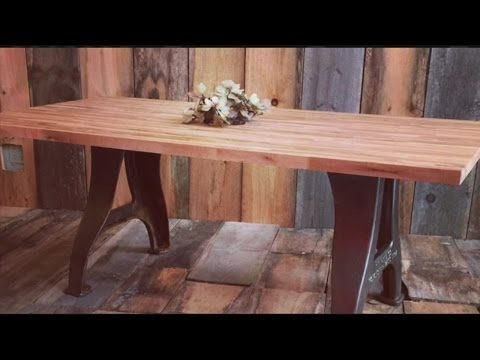 Mass Appeal Vintage farmhouse tables remade