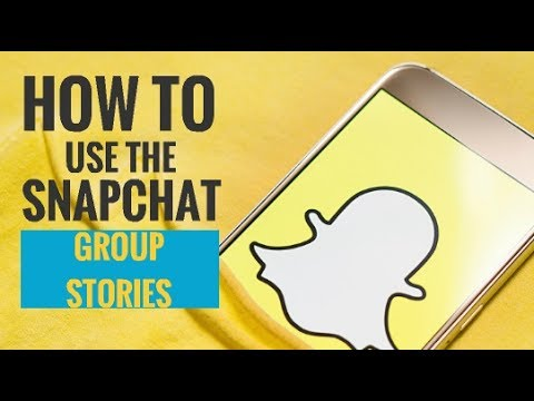 How to Use Snapchat Group Story