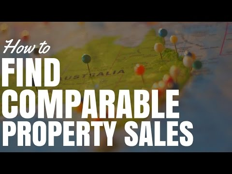 How To Find Comparable Property Sales