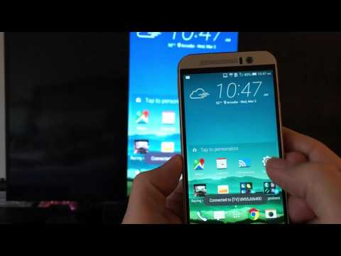 HTC One M9: How to Screen Mirror to Smart TV