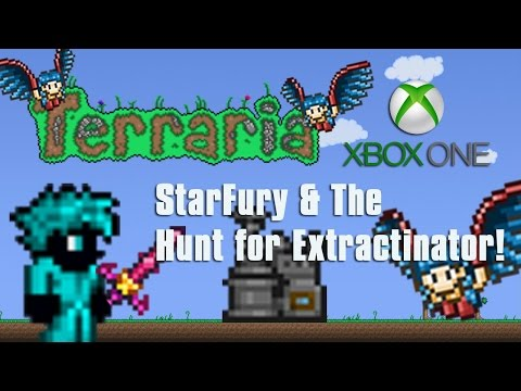 Terraria Xbox One - Epic StarFury & Hunt for Extractinator! [8]