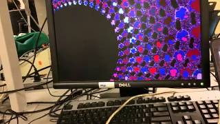 Mandelbrot FFT color animation and zoom