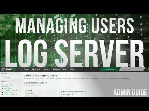 Managing Users in Nagios Log Server 2