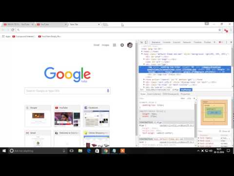 how to change google logo into name & pic use to html code.....