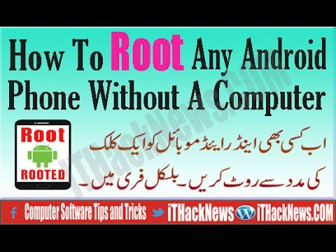 How To Root Any Android Phone Without A Computer at Once Click