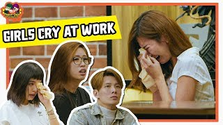 Girl Cries At Work | What Would You Do? | Social Experiment