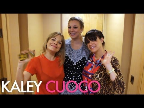 Watch us get Kaley Cuoco ready for the Big Bang Theory Upfronts in New York City!!
