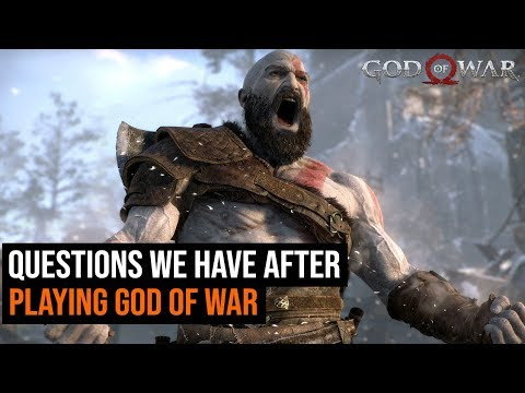 5 Questions We Have After completing God of War