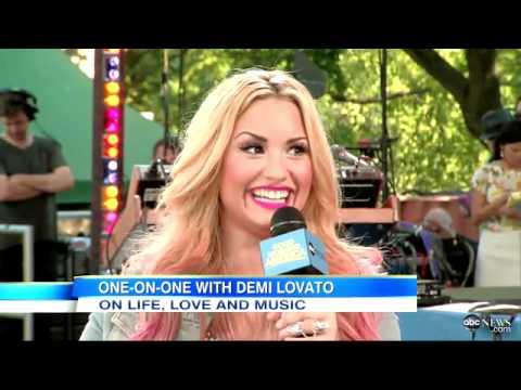 Demi Lovato GMA Interview (July 6th, 2012)