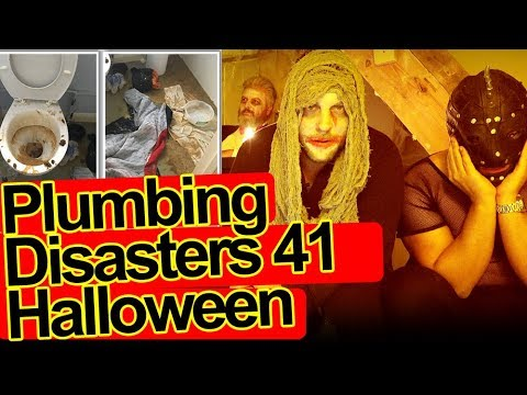 PLUMBING DISASTERS 👻 Halloween 2017 🎃 Photos & Video