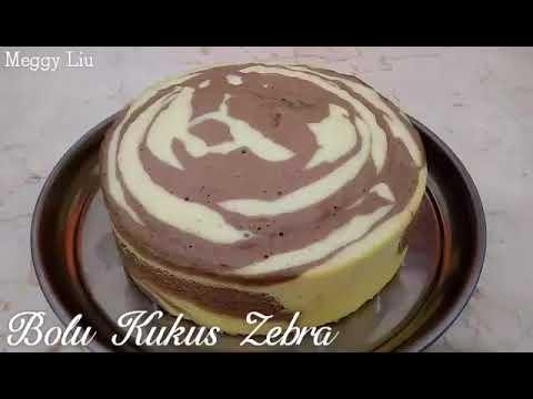 Resep dan Cara membuat Bolu Kukus Zebra