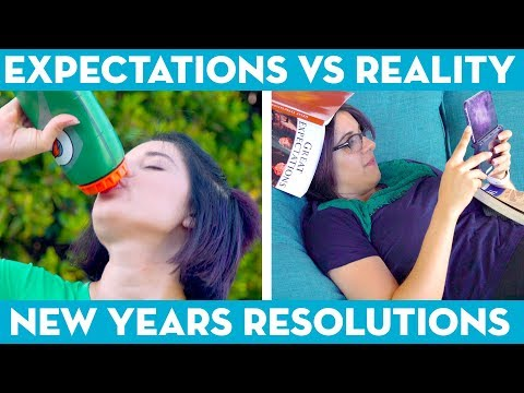New Years Resolutions: Expectations vs Reality! - Mind Over Munch