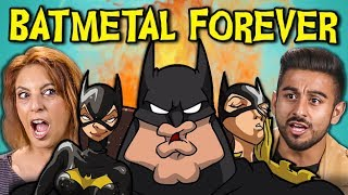 ADULTS REACT TO BATMETAL FOREVER (Death Metal Batman?!)