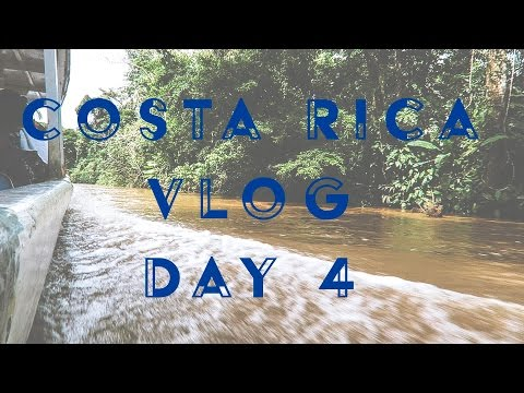 Tortuguero to Mount Arenal (m24instudio Costa Rica vlog day 4)