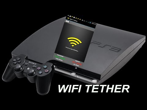 Wifi Tether Connected Via PS3