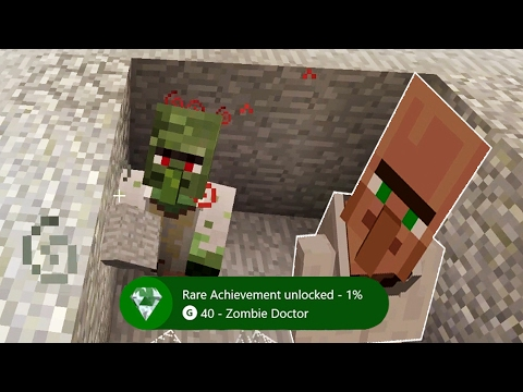 Let's Play Minecraft Episode 56 - Cure a Zombie Villager