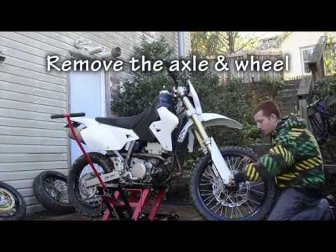 How to turn your dirtbike into a Supermoto