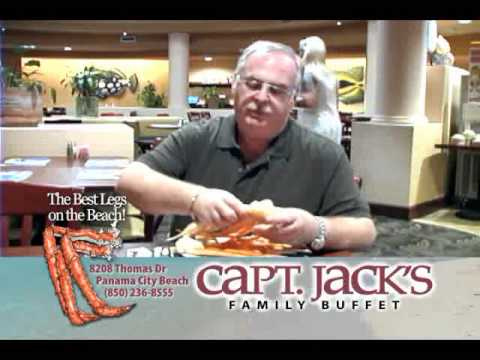 Capt Jacks Panama City Beach - How to get all the meat out of Crab Legs!