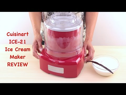 Cuisinart Ice Cream Maker Review