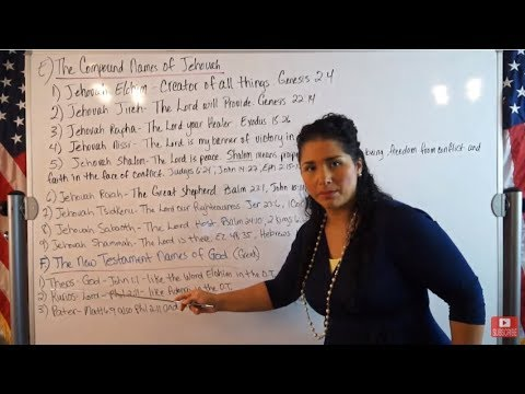 EMOAF S.O.M Back To Basics | Theology Exegesis Two Course 5: The Names of God