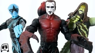 Sting, Bray Wyatt & Stardust WWE Mutants Toy Unboxing & Review!!