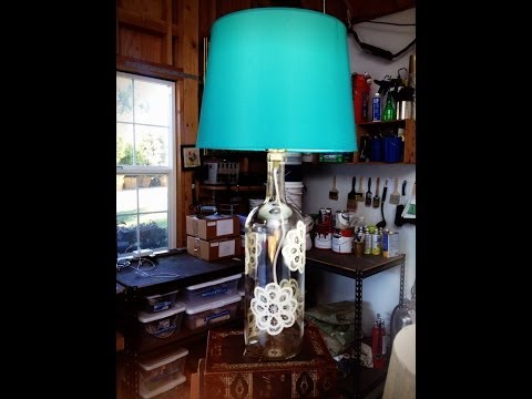 Wine Bottle Lamps - DIY by Tanya Memme (As Seen on Home & Family on Hallmark Channel)