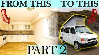 Moving Into A Van THIS IS HUGE Starting Van Life Part 2