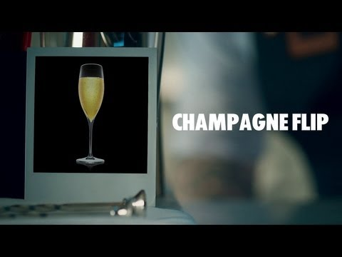 CHAMPAGNE FLIP DRINK RECIPE - HOW TO MIX