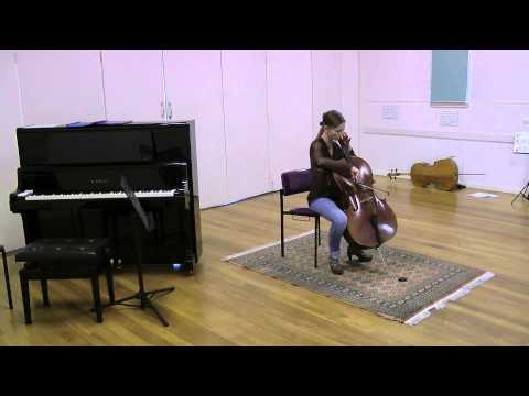 Bach Cello Suite 1 (Sarabande, Minuet, Gigue) - student for 1 year