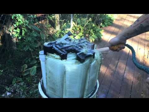 Pentair FNS Pool Filter Grid Cleaning
