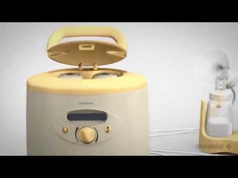 Symphony Breast Pump Media Separation by Medela