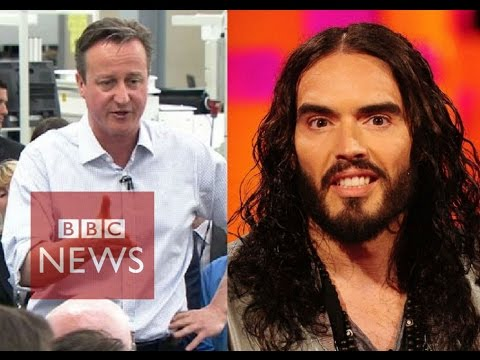 David Cameron: Russell Brand is a joke - BBC News