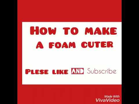Make FOAM CUTTER without nichrome wire easy way