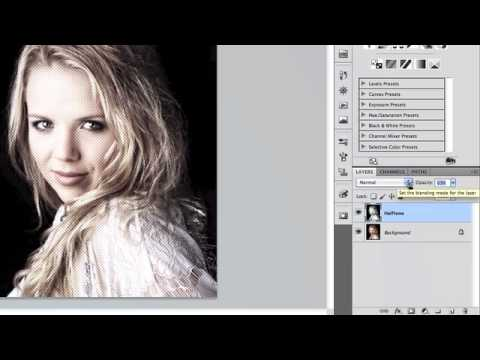 Adding a Half Tone Effect to any Photo in Photoshop CS5