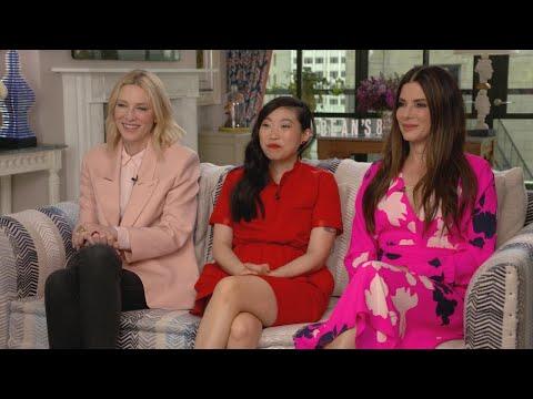 'Ocean's 8': Sandra Bullock, Cate Blanchett and Awkwafina (Full Interview)