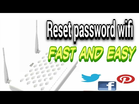 How to reset password WiFi fast & easy