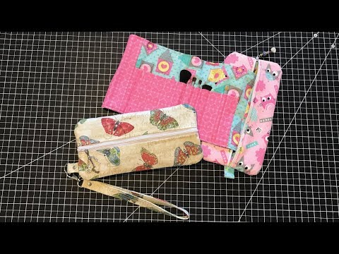 Double Sided Zipper Pouch