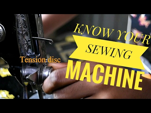 KNOW YOUR SEWING MACHINE PARTS W/ Cisca Stitches