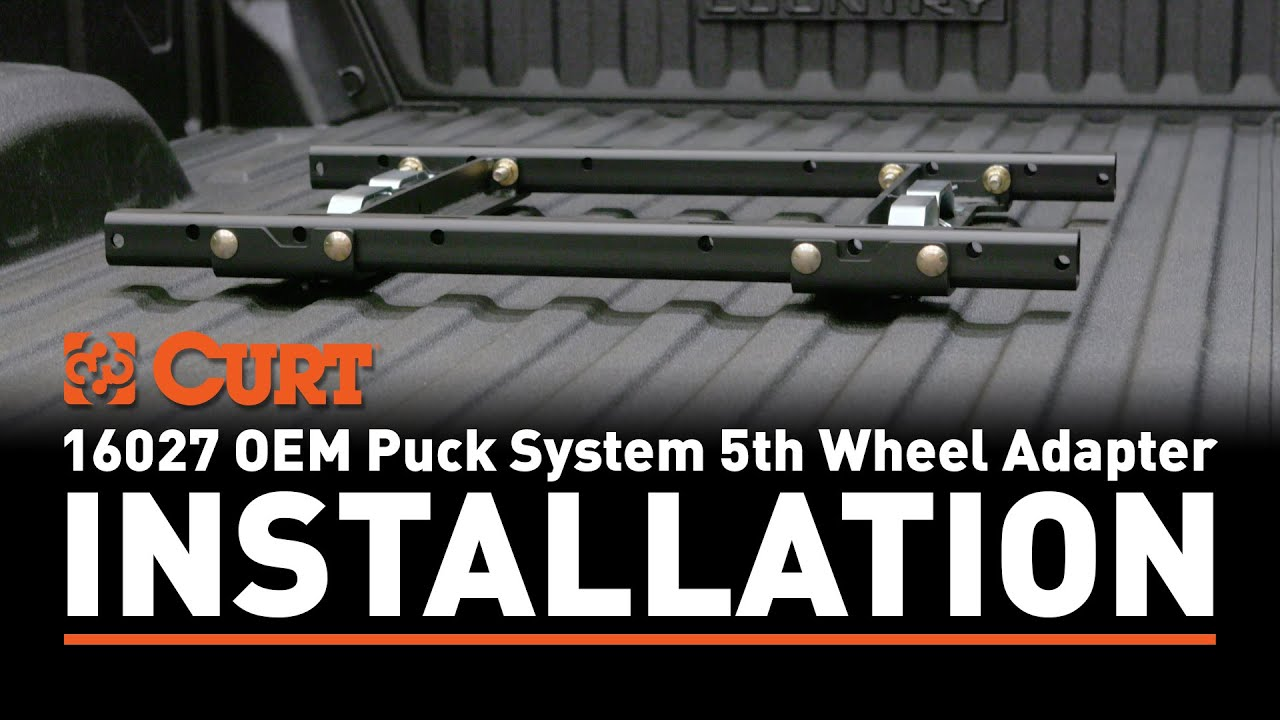 5th Wheel Puck System Rail Adapter Install #16027