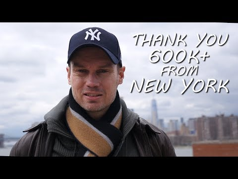 New York City Tour Visit Thank You 600K+ Subscribers [Michael Sealey Hypnosis & Guided Meditation]