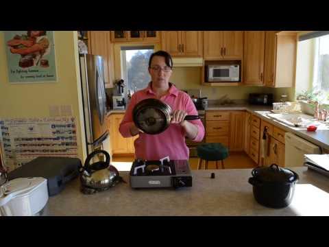 Portable Emergency Cookstove