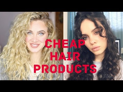 Drugstore Holy Grails for WAVES/CURLS ft. Dana Marie