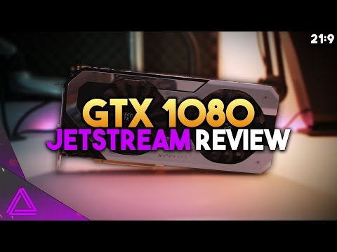 UNDERRATED POWER! ~ GTX 1080 Jetstream 4K Review ~ Best Overclock ( 2200MHz )
