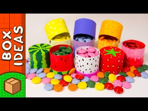 DIY Miniature Fruit Gift Boxes | Craft Ideas for Kids on Box Yourself