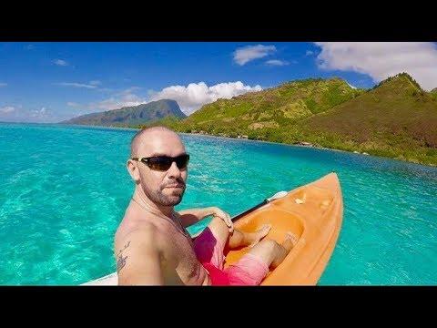 Air Tahiti, Papeete to Moorea: Best 24 hours of my life! + Intercontinental Hotel Part 2/3