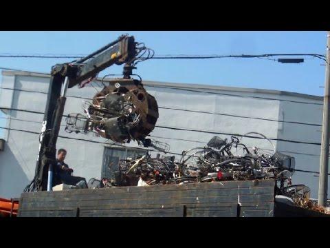 Crushing Bikes in Japan!